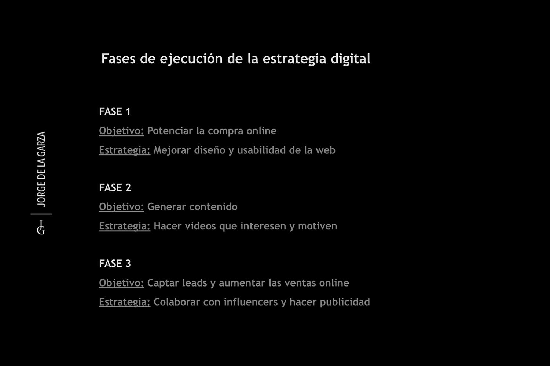 Estrategia digital Jorge de la Garza