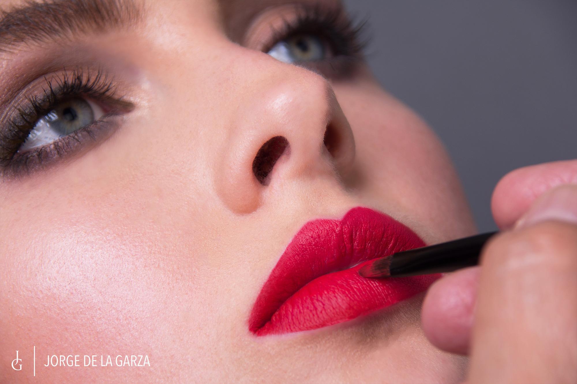Fotos maquillaje creativo Jorge de la Garza