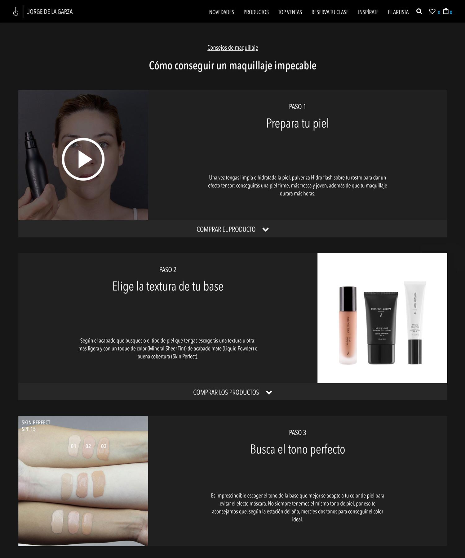 Diseño web Jorge de la Garza Tutoriales